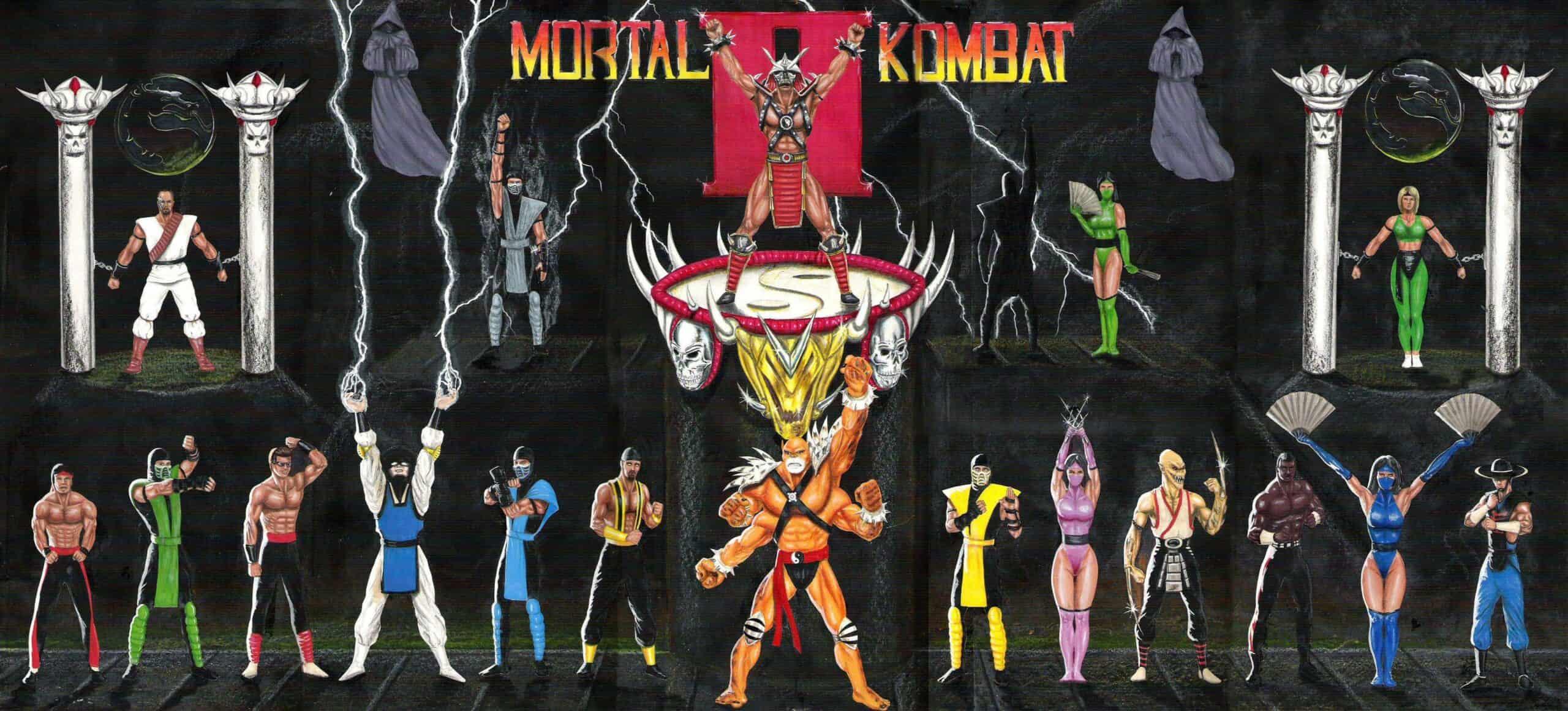 Best Fighting Games - Mortal Kombat II