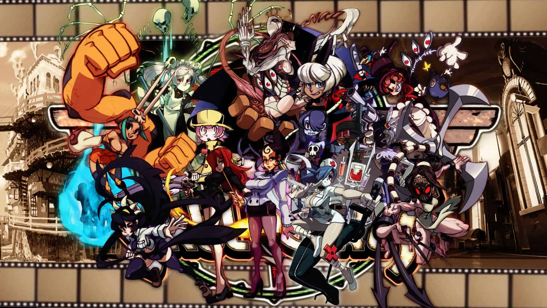 Best Fighting Games - Skull Girls
