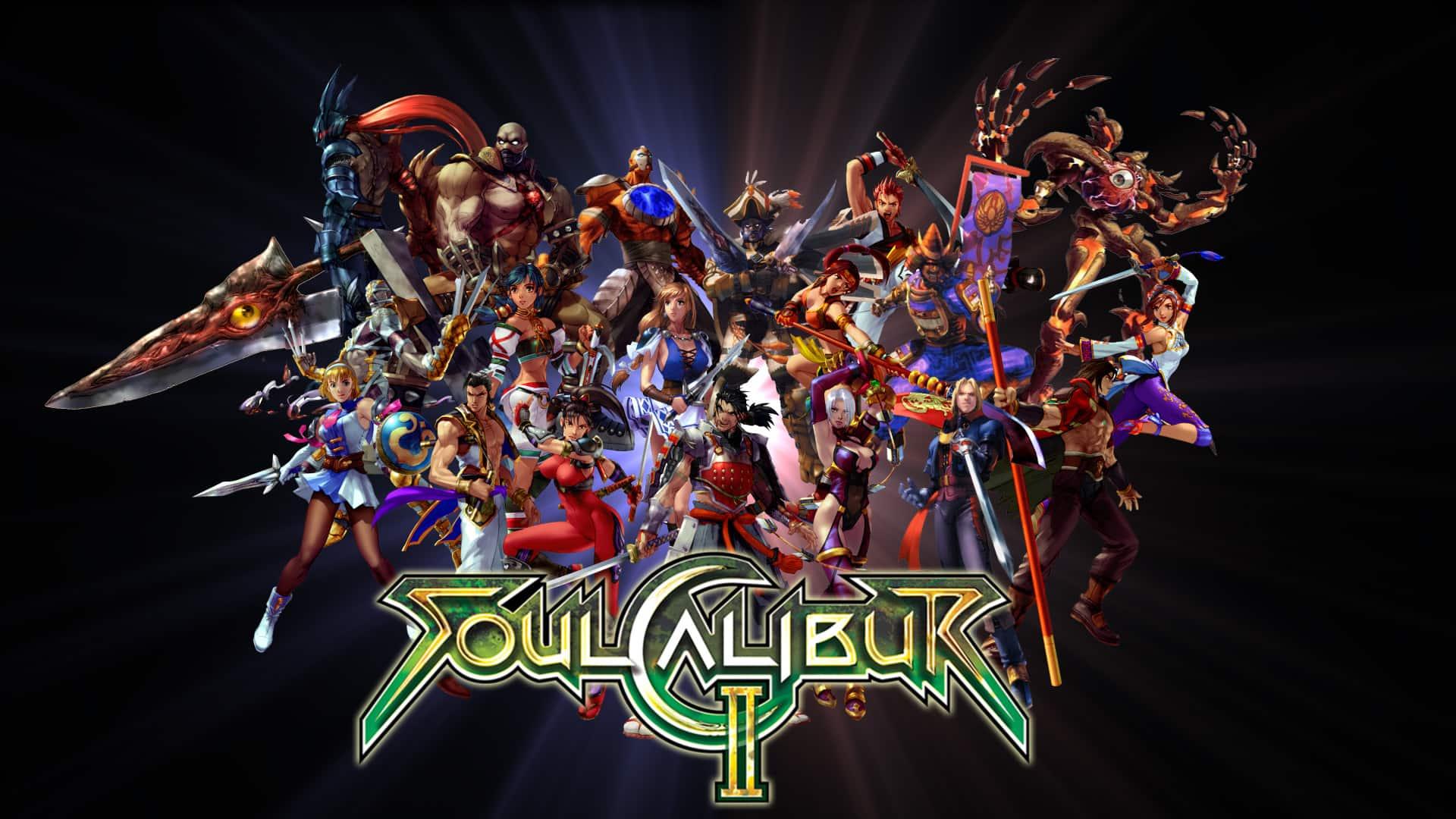 Best Fighting Games - Soulcalibur II