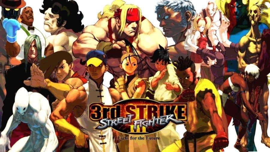 Best Fighting Games - Street Fighter III- Third Strike