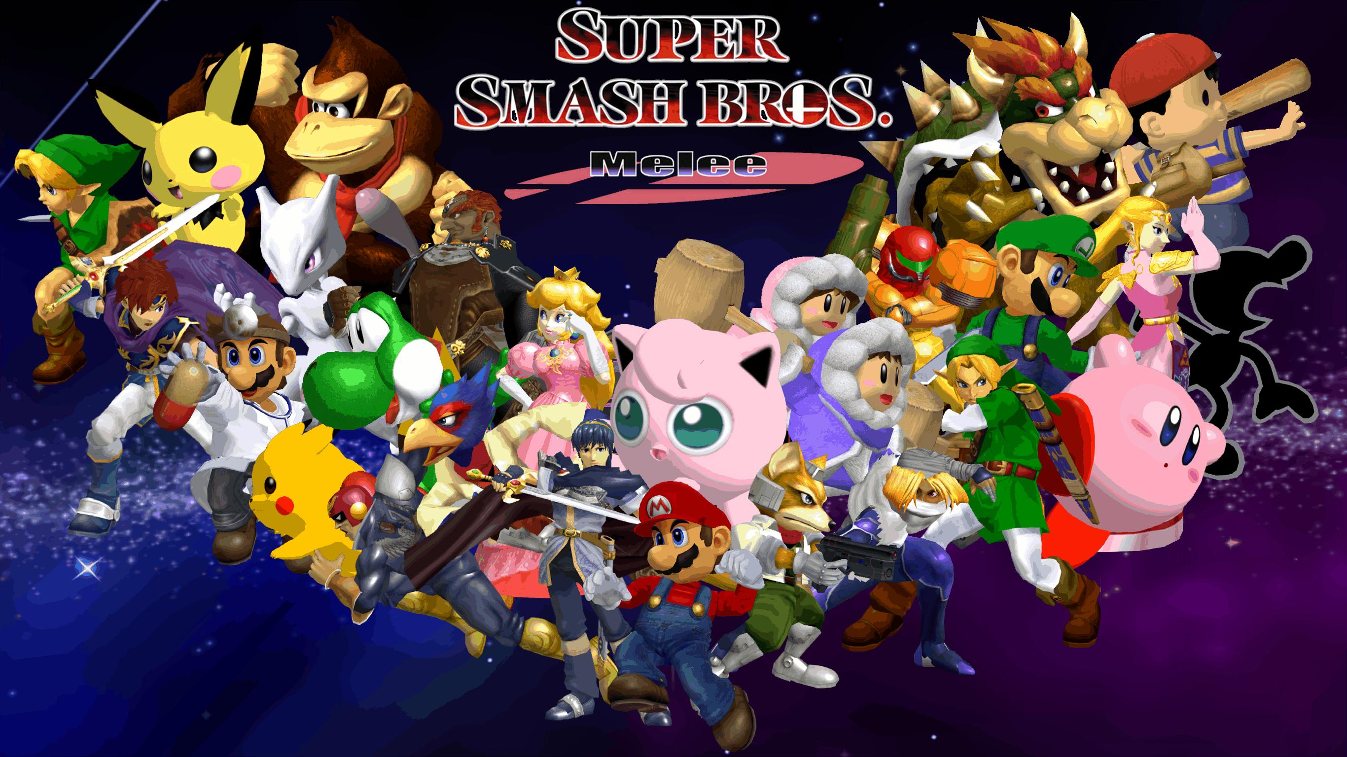 Best Fighting Games - Super Smash Bros. Melee