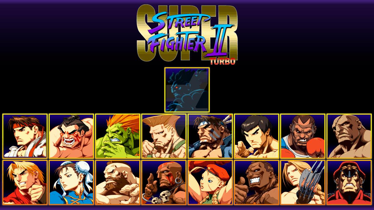 Best Fighting Games - Super Street Fighter II- Turbo