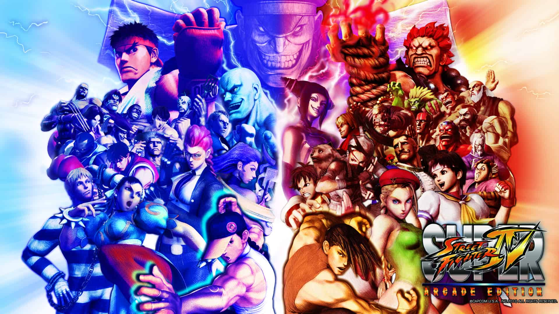 Best Fighting Games - Super Street Fighter IV- Arcade Edition
