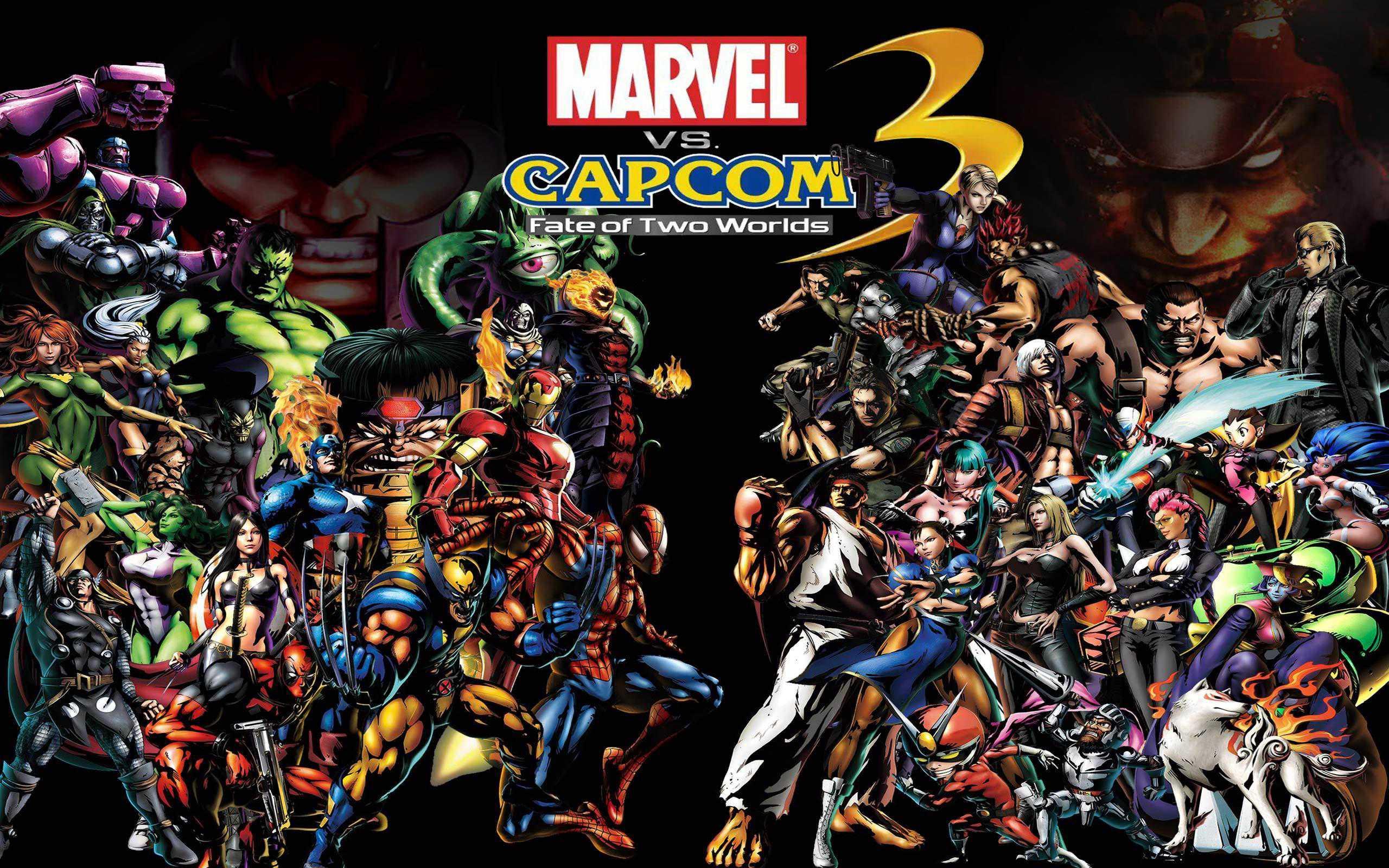 Best Fighting Games - Ultimate Marvel VS Capcom 3