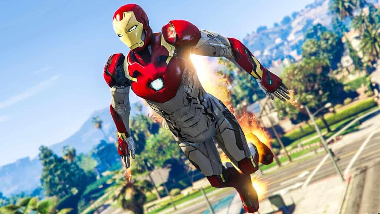 Best GTA 5 Mods - Become Iron Man