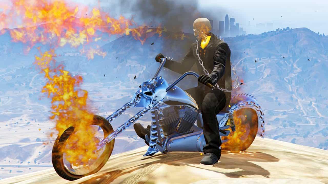 Best GTA 5 Mods - Ghost Rider