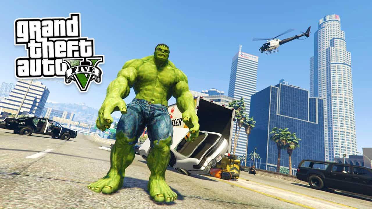 Best GTA 5 Mods - Incredible Hulk
