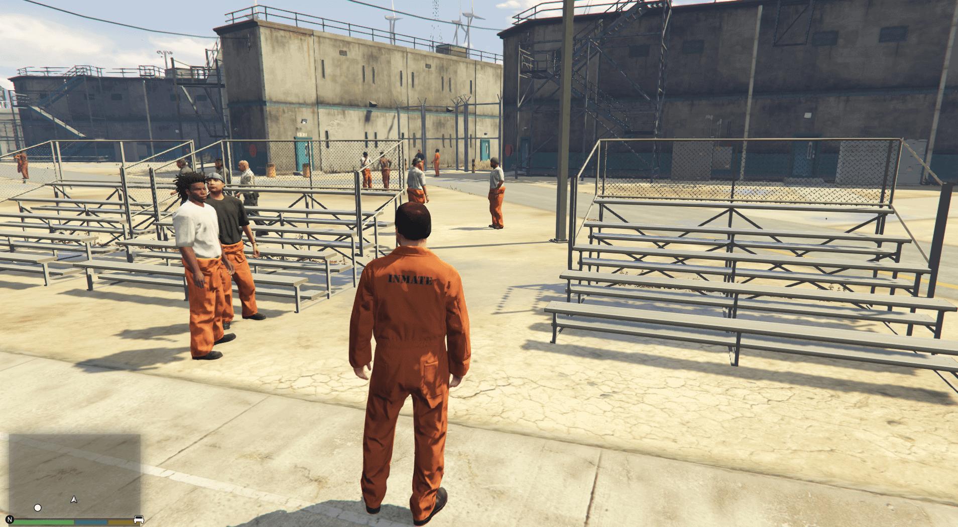 Best GTA 5 Mods - Prison