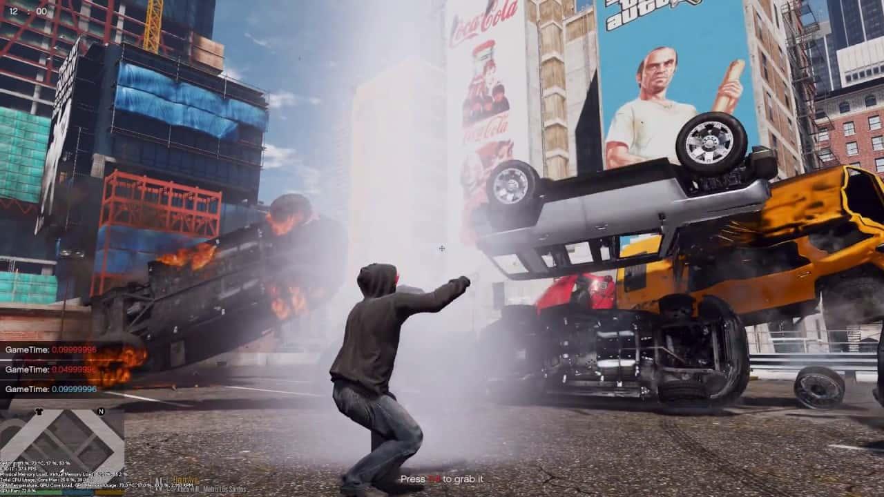 Best GTA 5 Mods - Psychokinetic