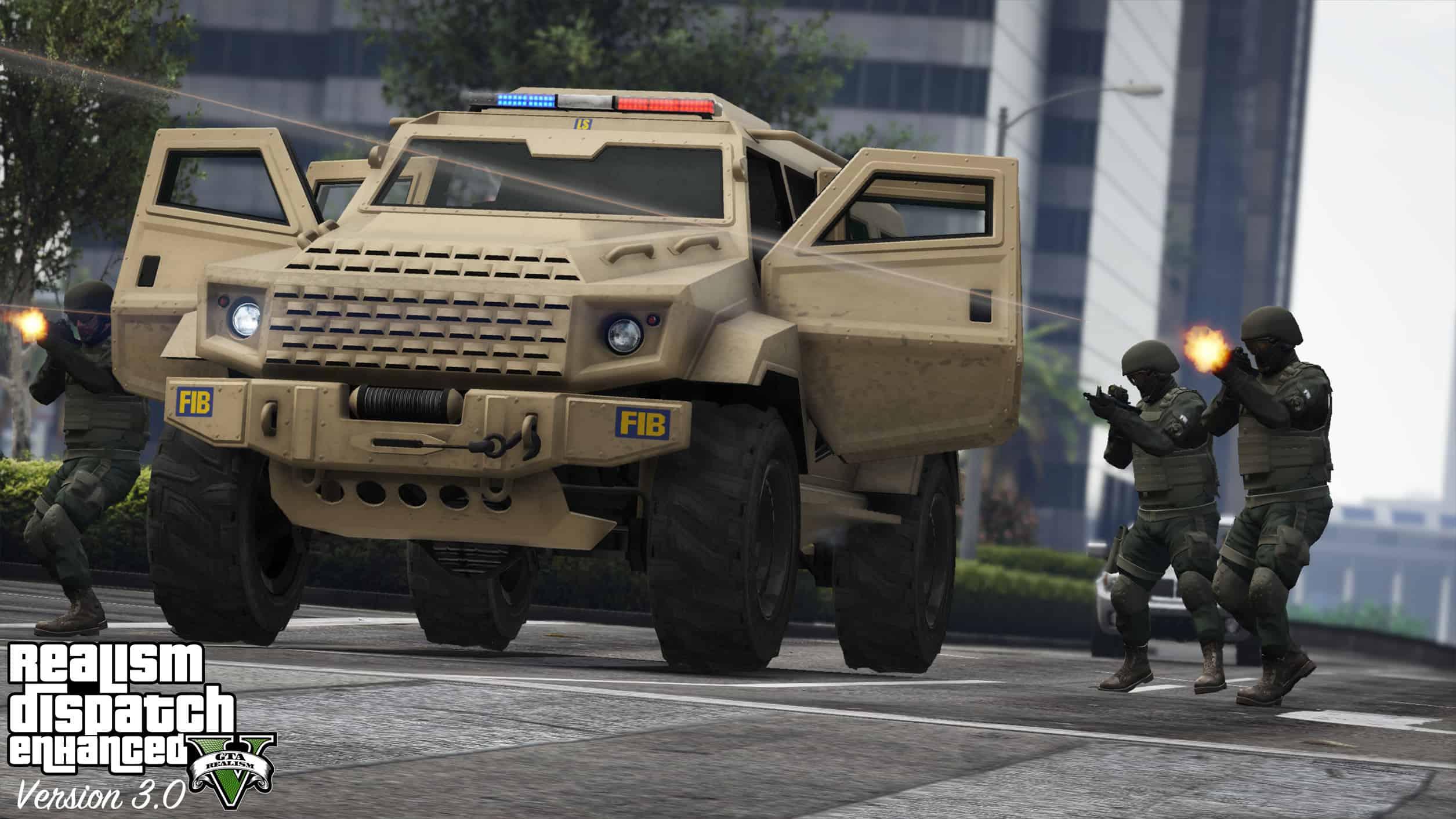 Best GTA 5 Mods - Realism Dispatch Enhancer