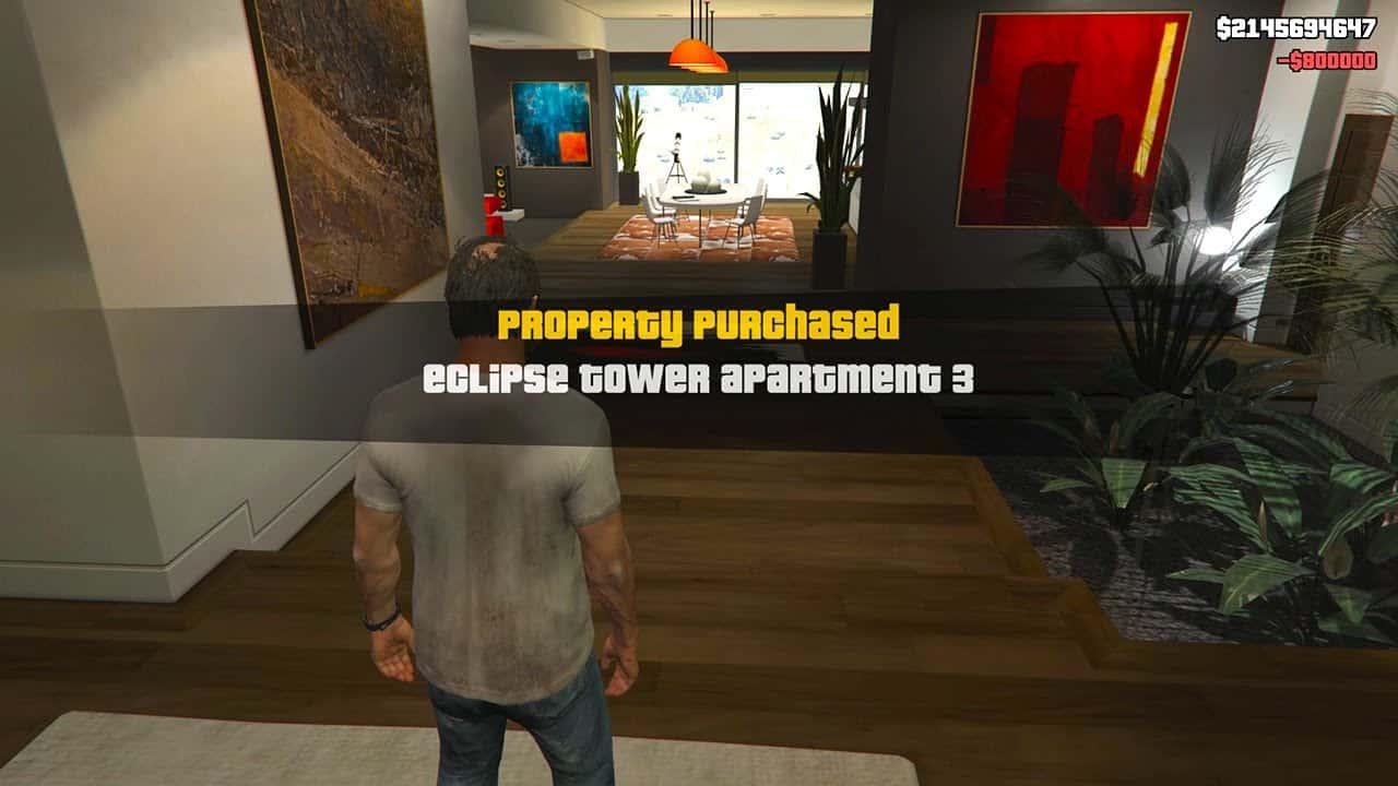 Best GTA 5 Mods - Single Player Apartment