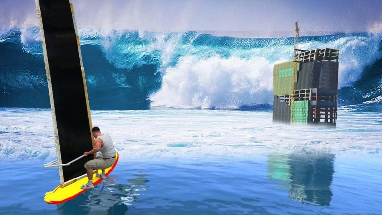 Best GTA 5 Mods - Tsunami