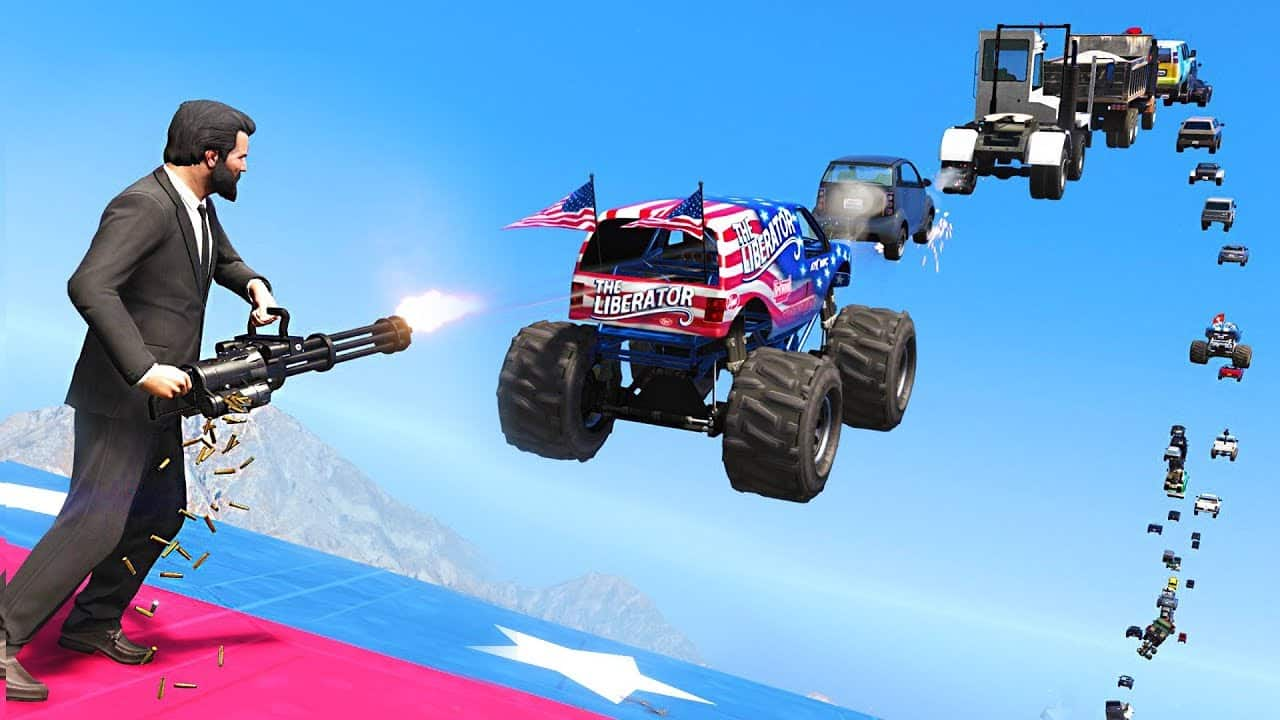 Best GTA 5 Mods - Vehicle Cannon