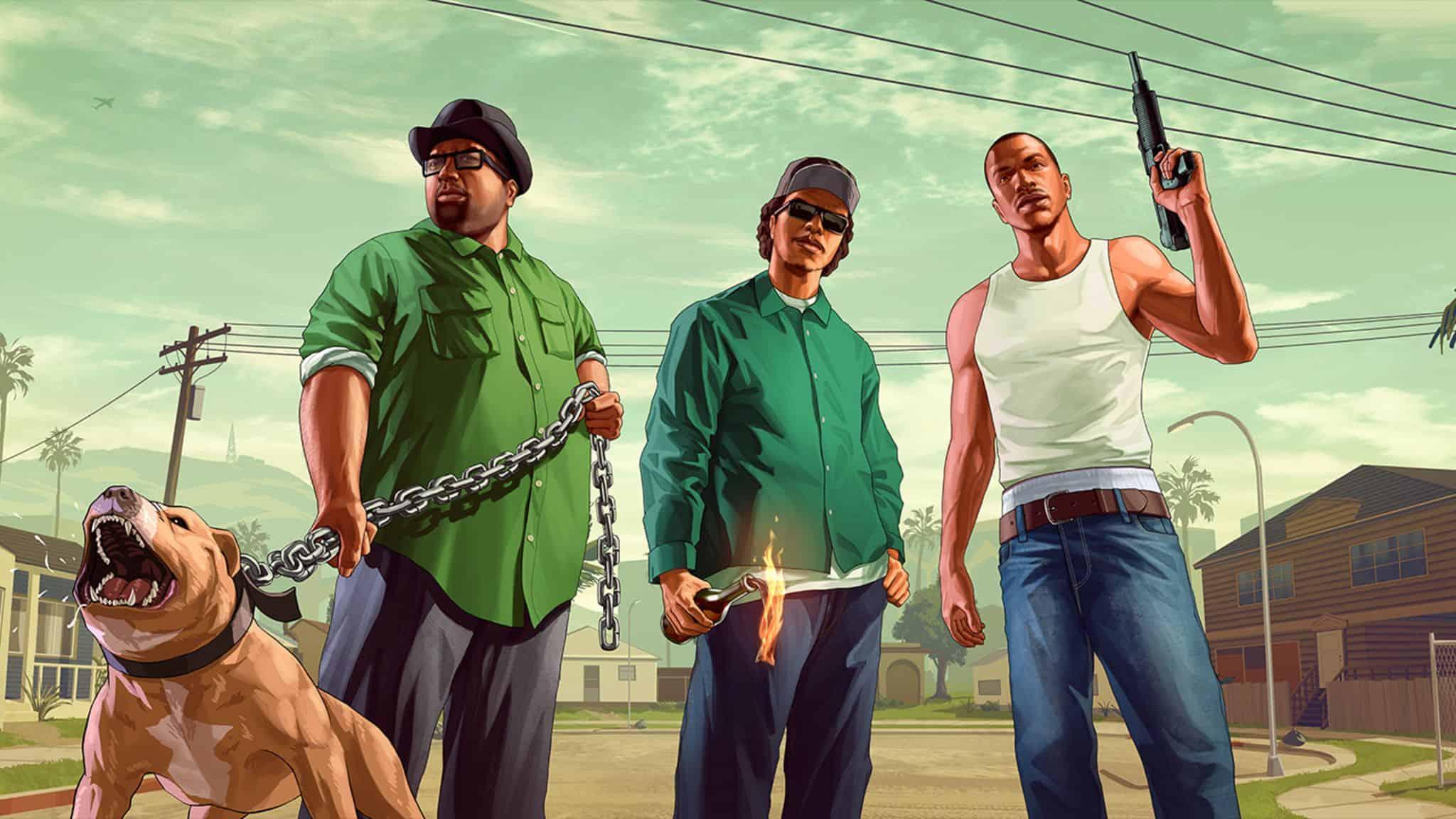 Best GTA San Andreas Cheats - Funny Cheats