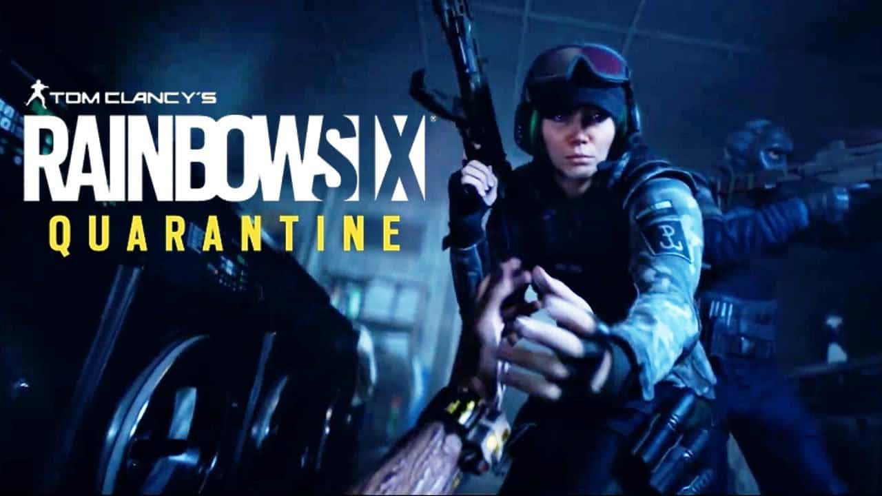 Best PS5 Games - Rainbow Six Quarantine