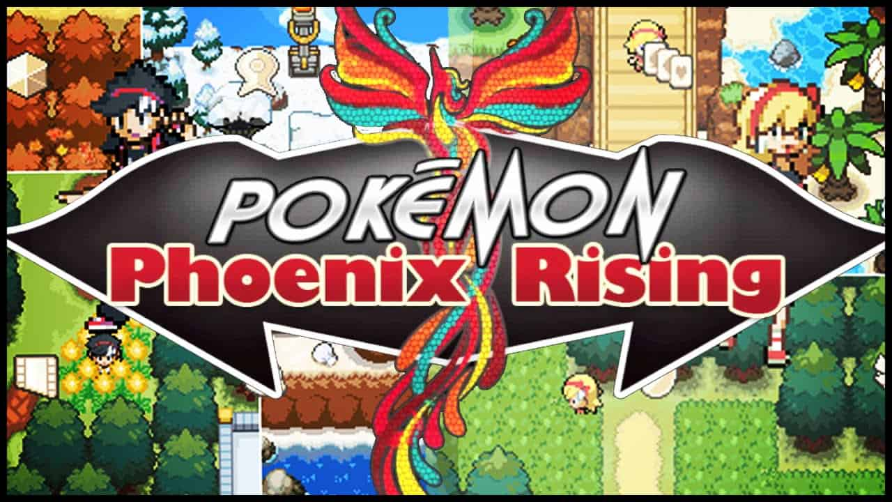 Best Pokemon Fan Games - Pokemon Phoenix Rising