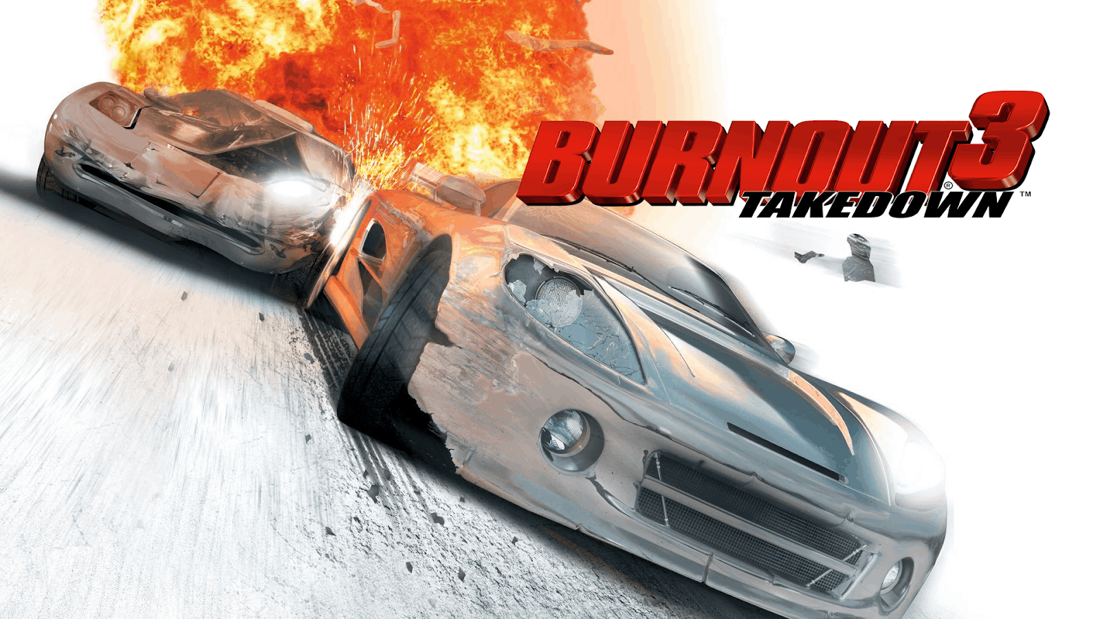 Best Racing Games - Burnout 3 Takedown