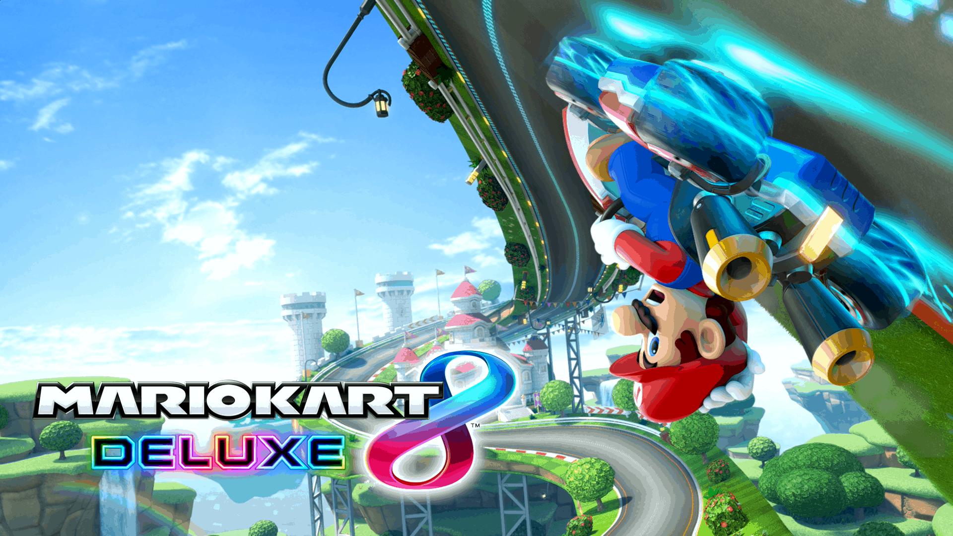 Best Racing Games - Mario Kart 8 Deluxe