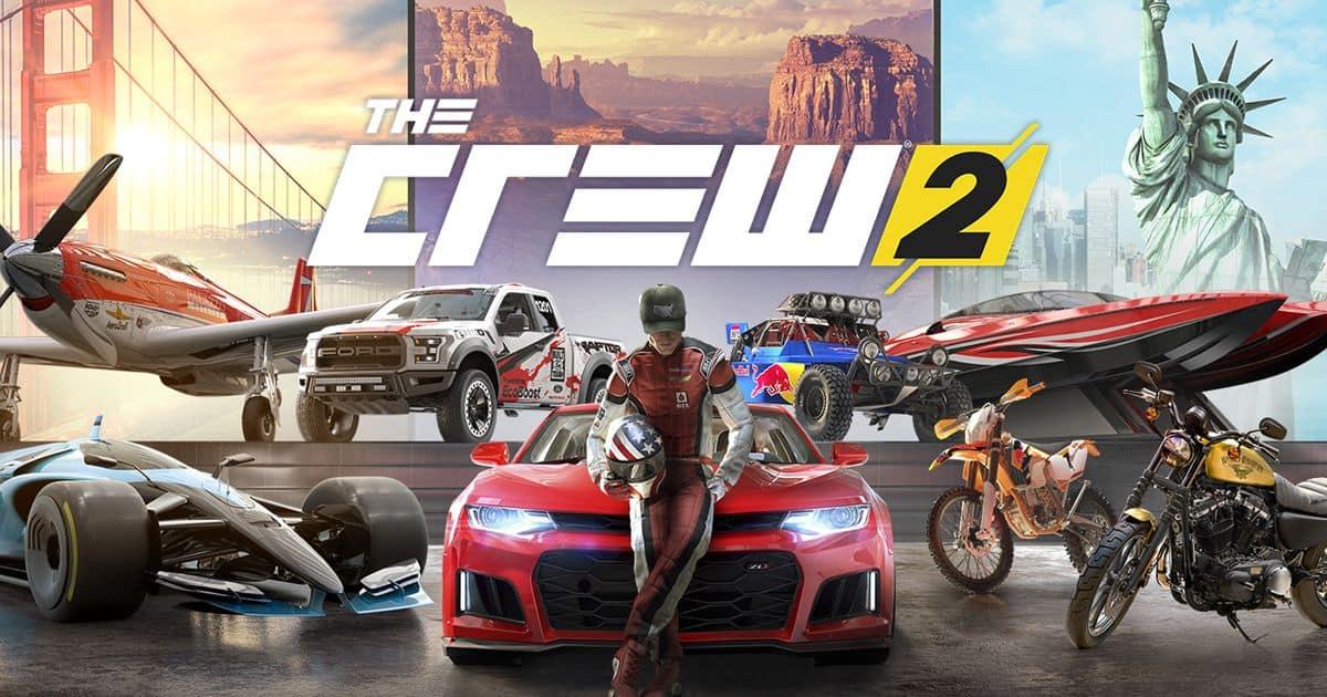 Best Racing Games - The Crew 2