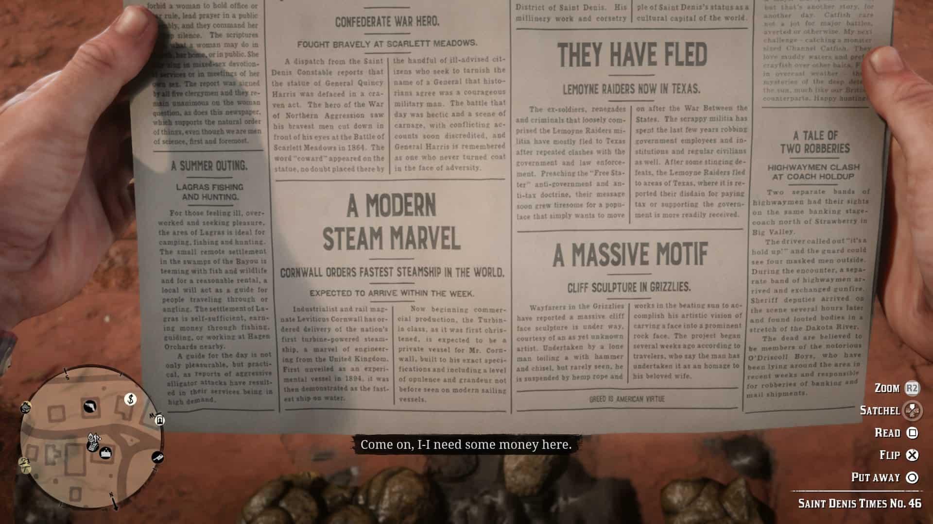 Best Red Dead Redemption 2 Cheats - Newspaper Cheats