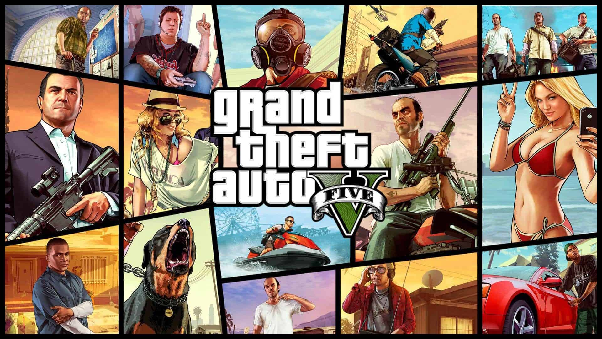 Best Selling PS4 Games - Grand Theft Auto V