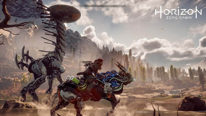 Best Selling PS4 Games - Horizon Zero Dawn