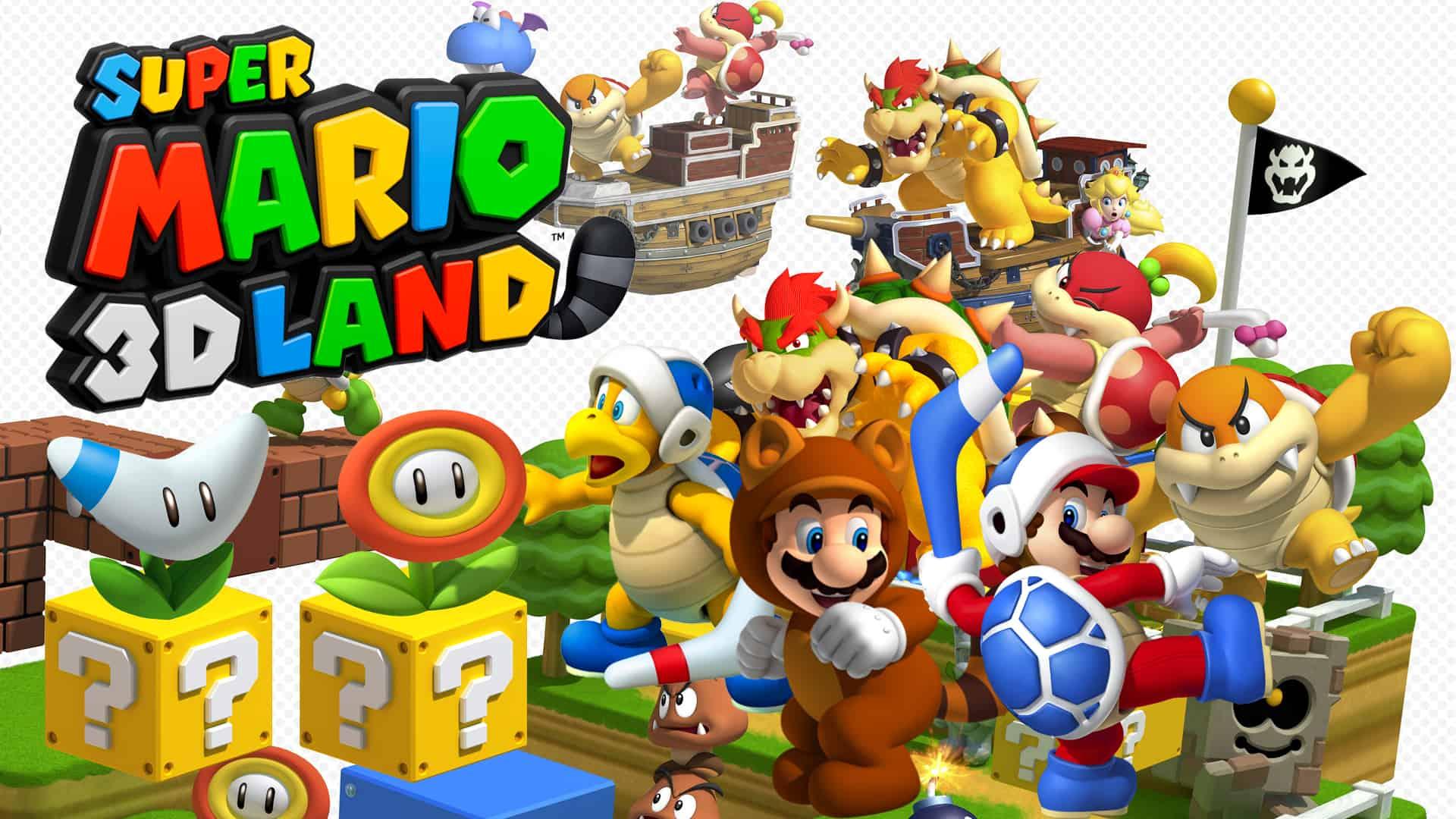 Best Super Mario Games - 3D Land