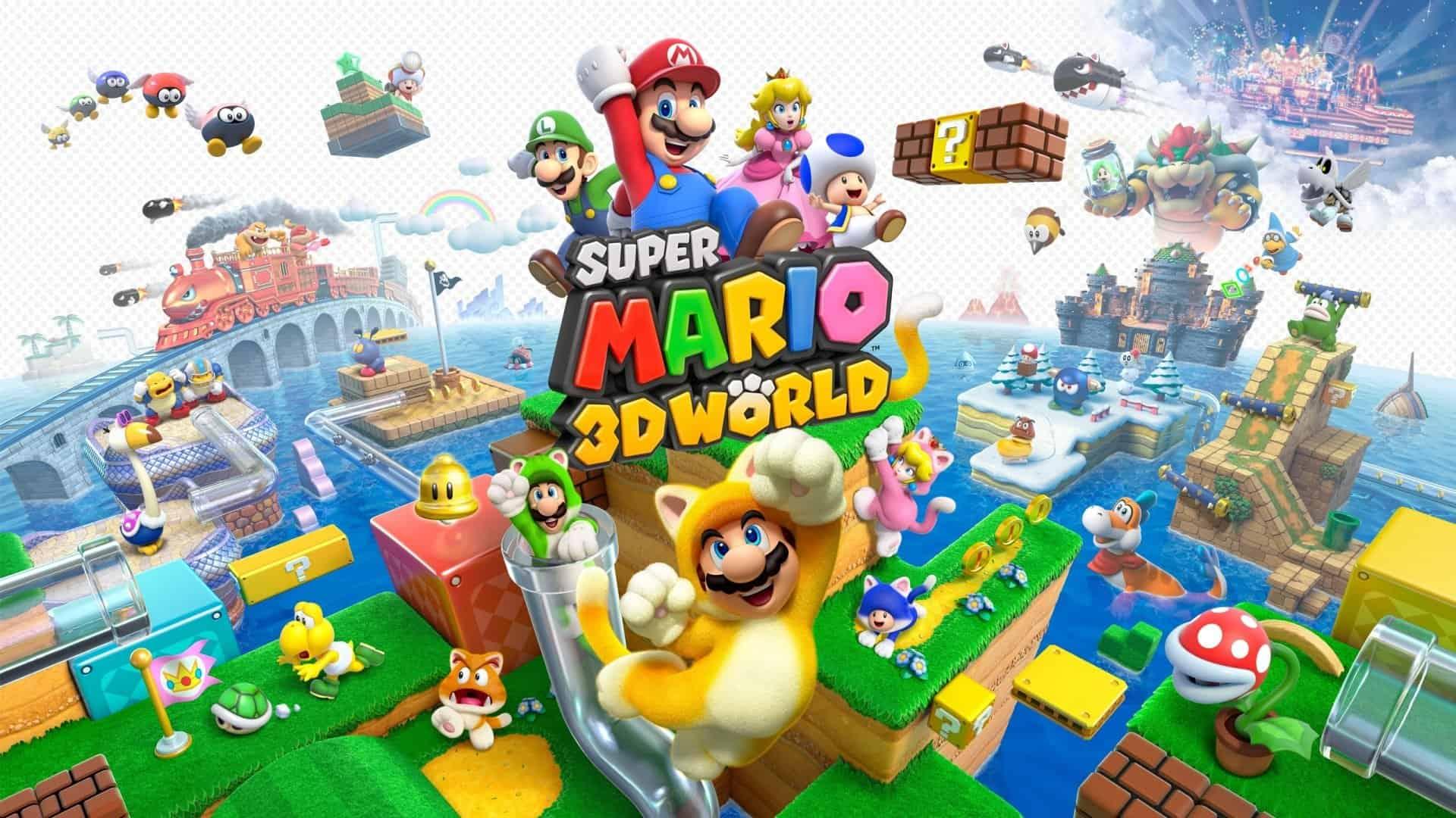 Best Super Mario Games - 3D World