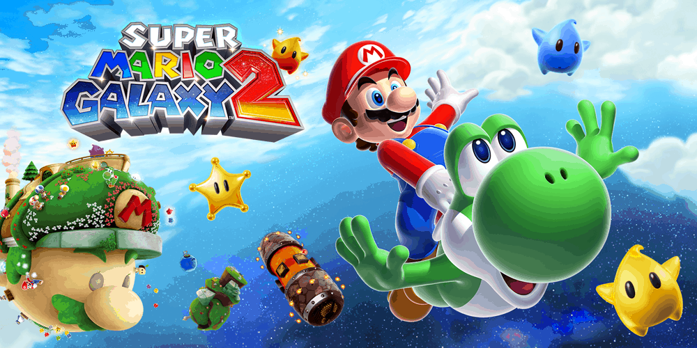 Best Super Mario Games - Galaxy 2