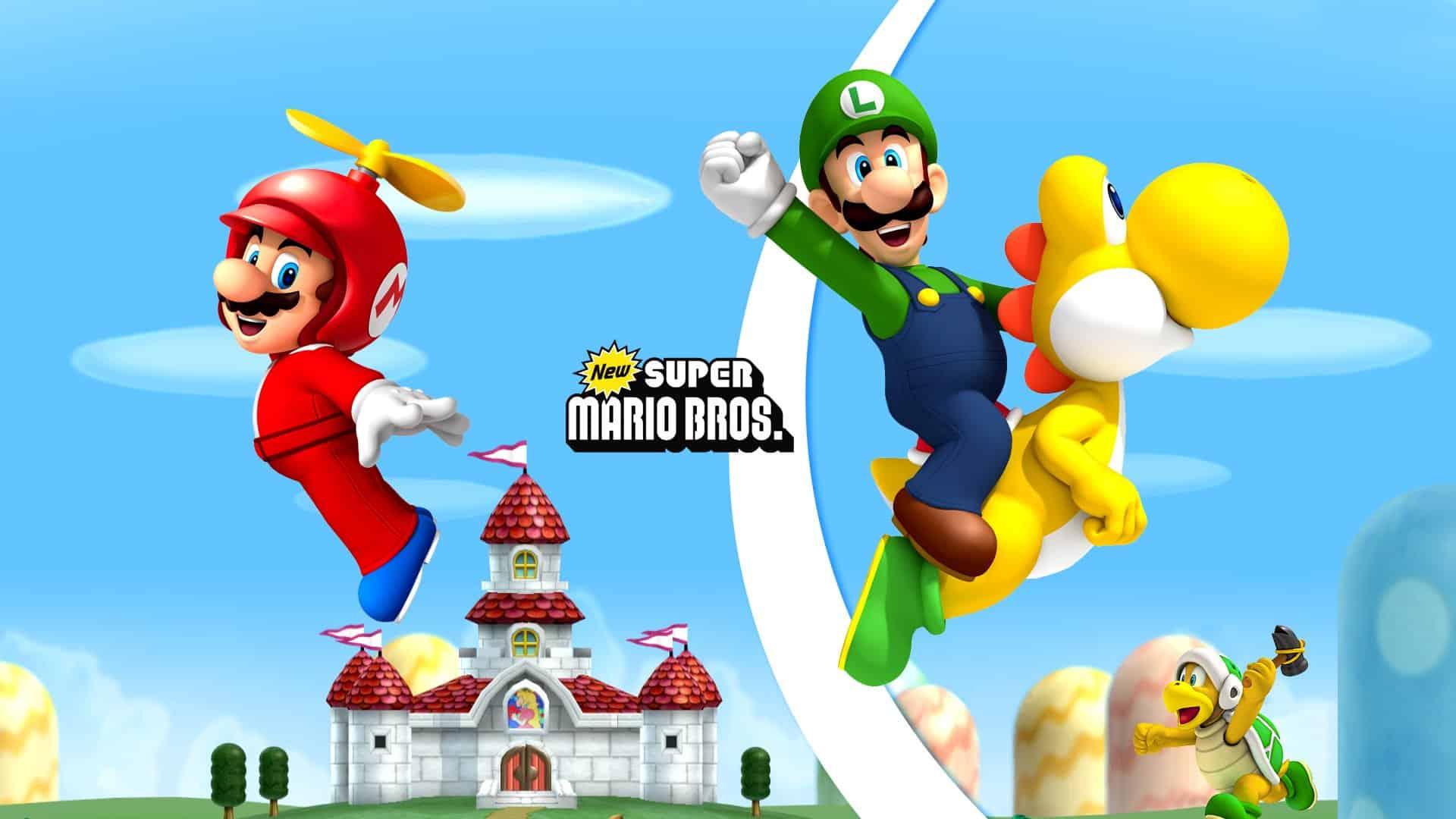 Best Super Mario Games - New Super Mario Bros