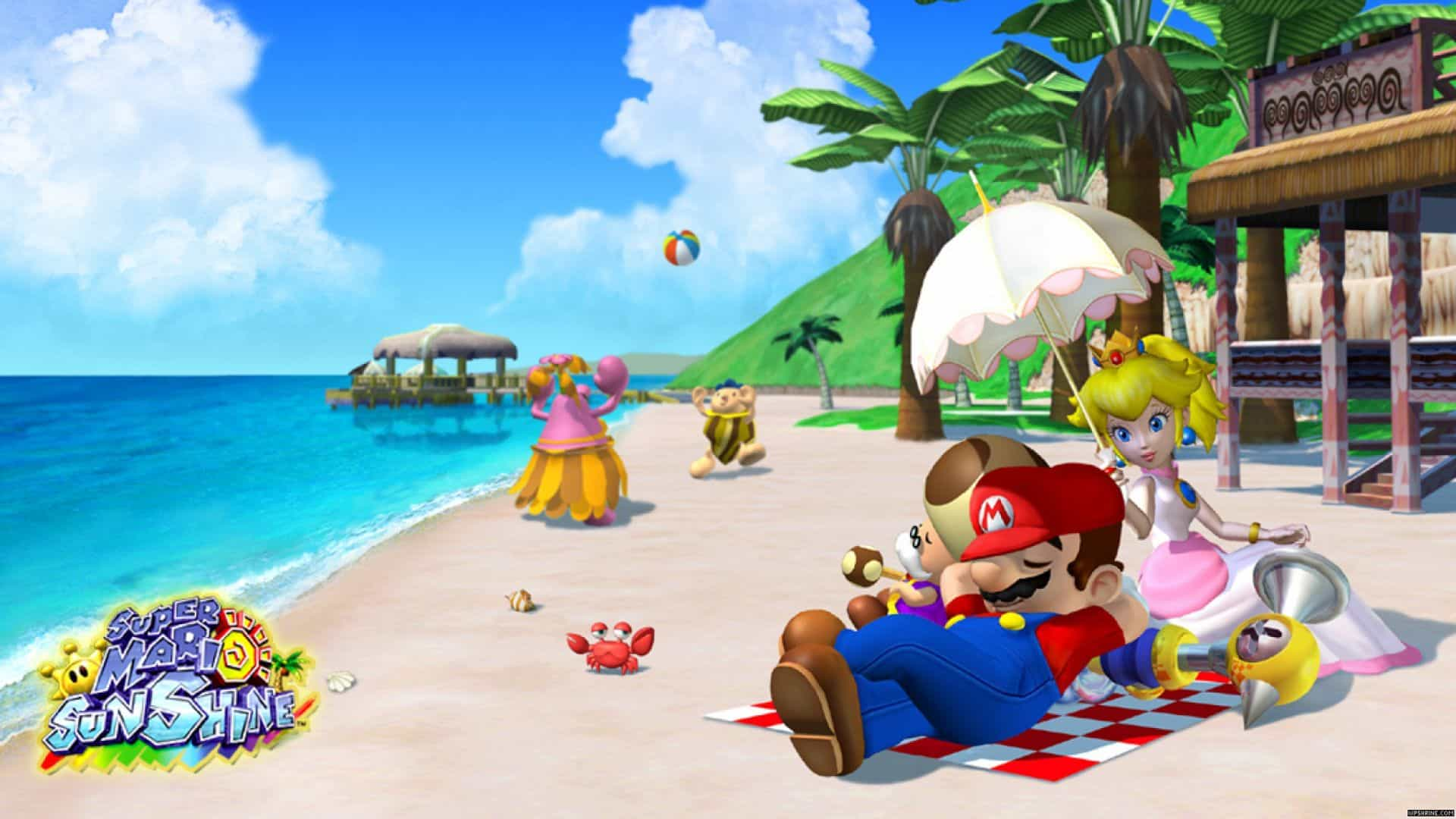 Best Super Mario Games - Sunshine
