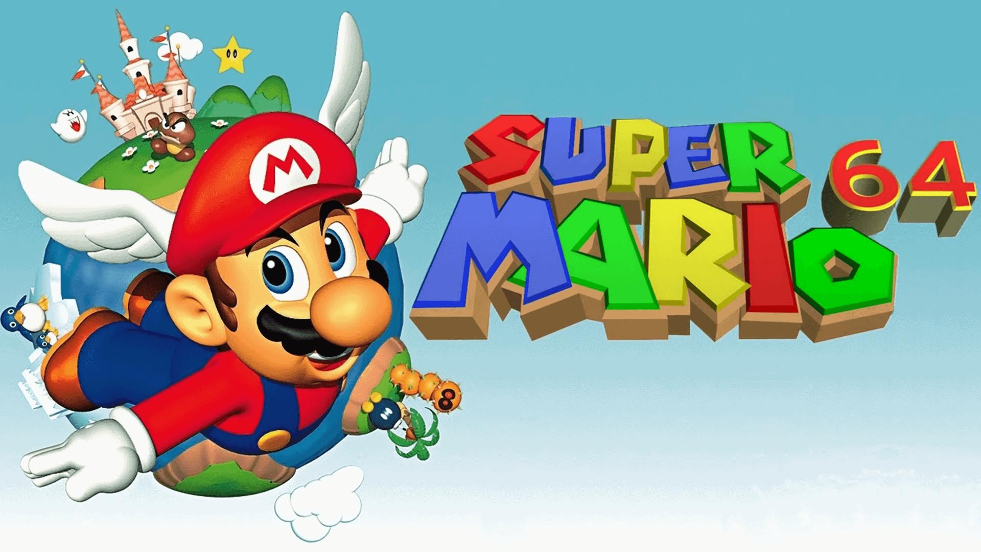 Best Super Mario Games - Super Mario 64