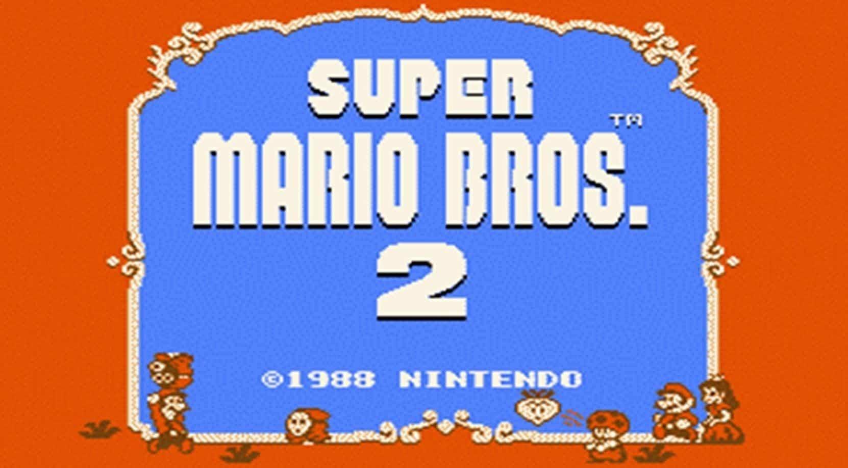 Best Super Mario Games - Super Mario Bros 2