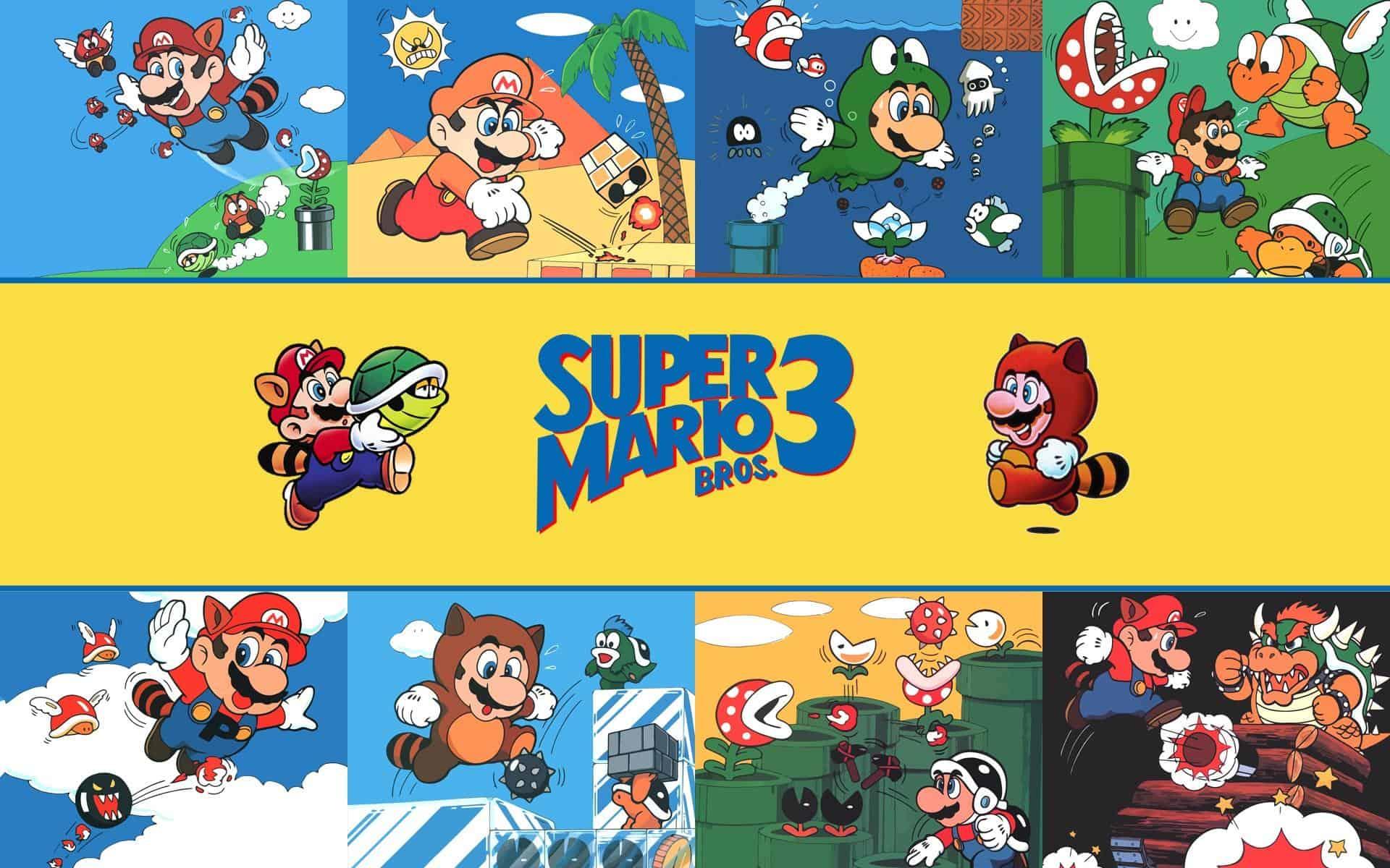Best Super Mario Games - Super Mario Bros 3