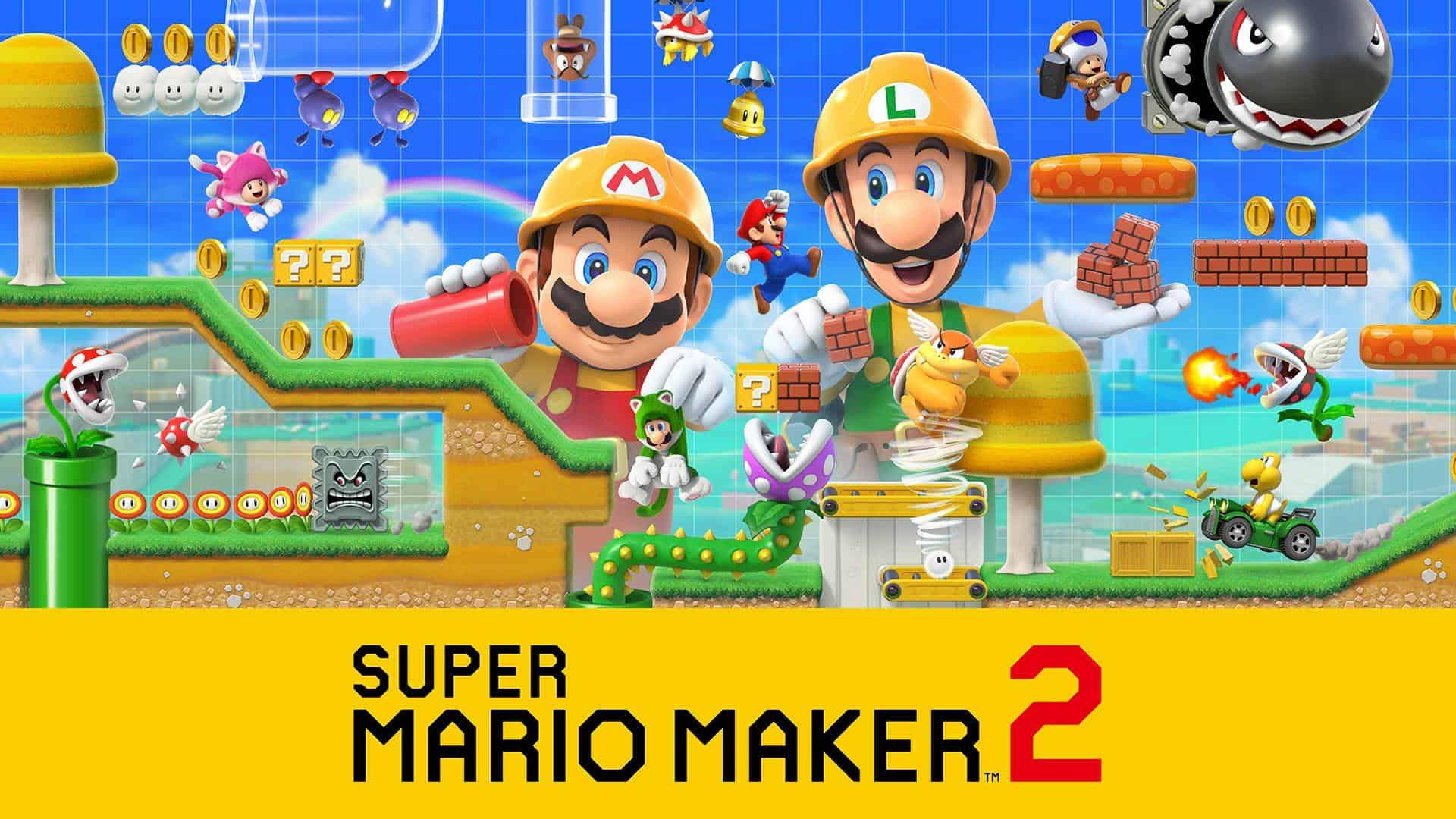 Best Super Mario Games - Super Mario Maker 2