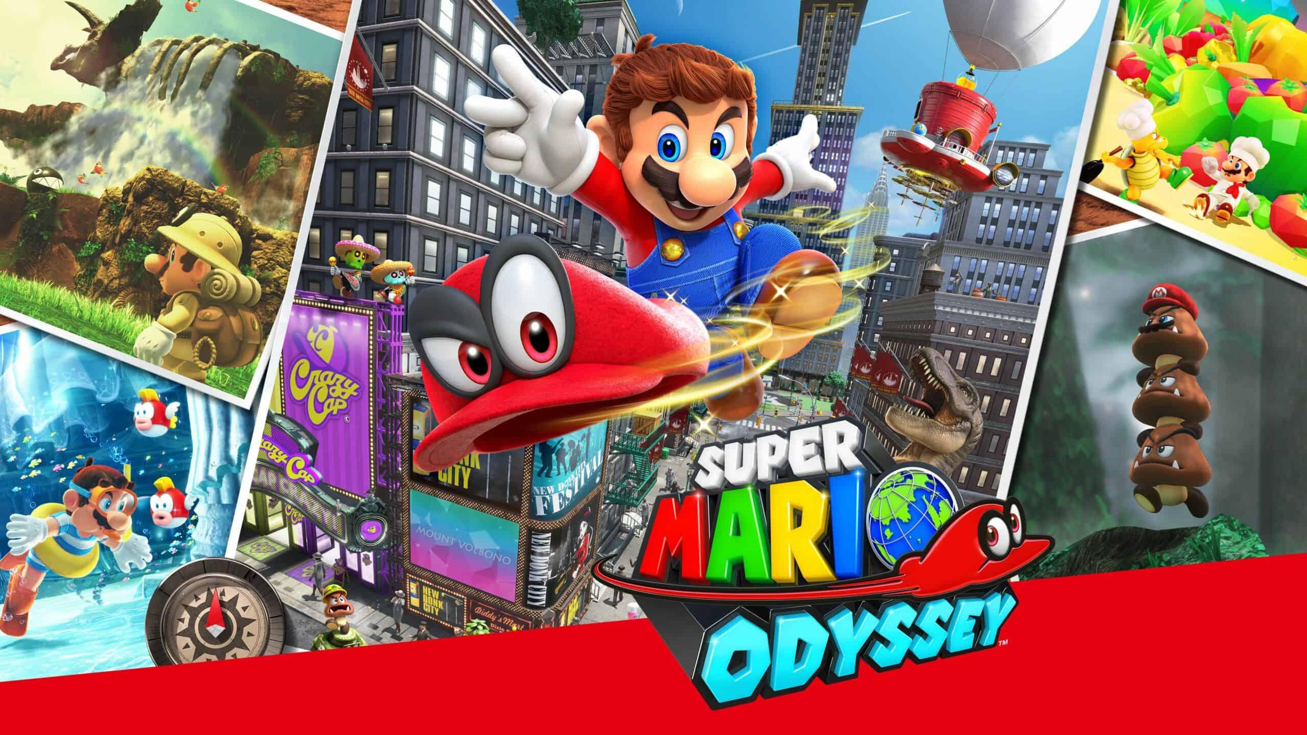 Best Super Mario Games - Super Mario Odyssey