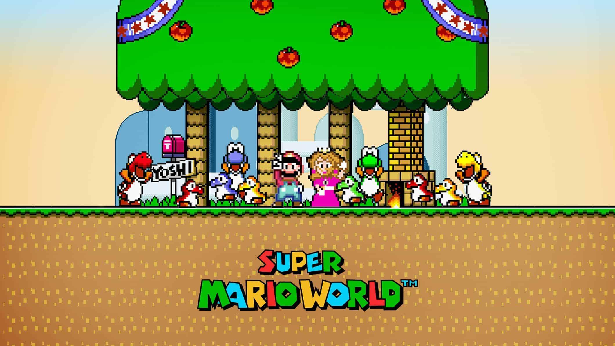 Best Super Mario Games - Super Mario World