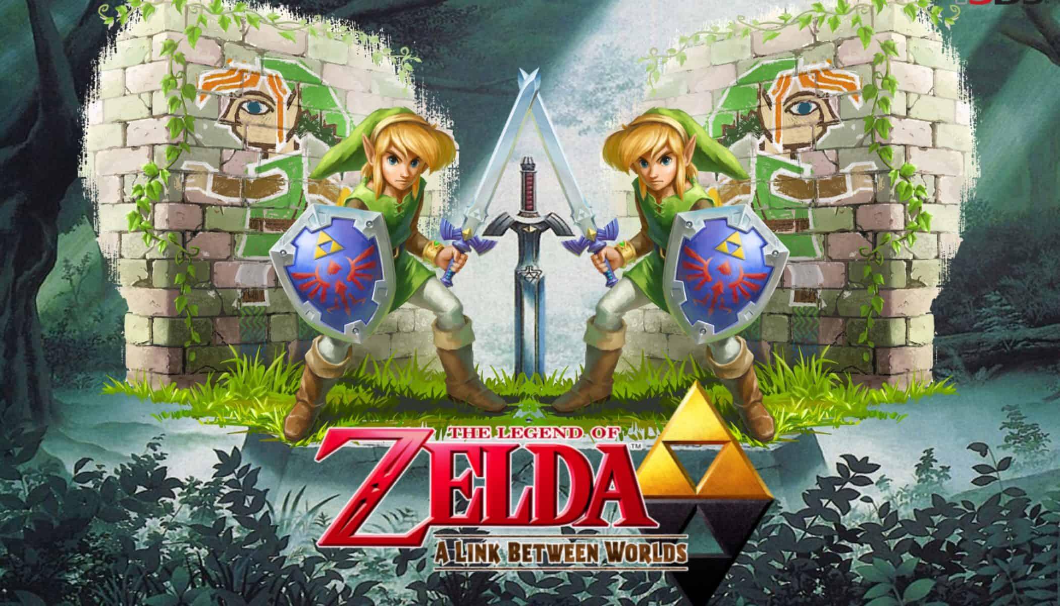 Best Zelda Games - The Legend of Zelda - A Link Between Worlds