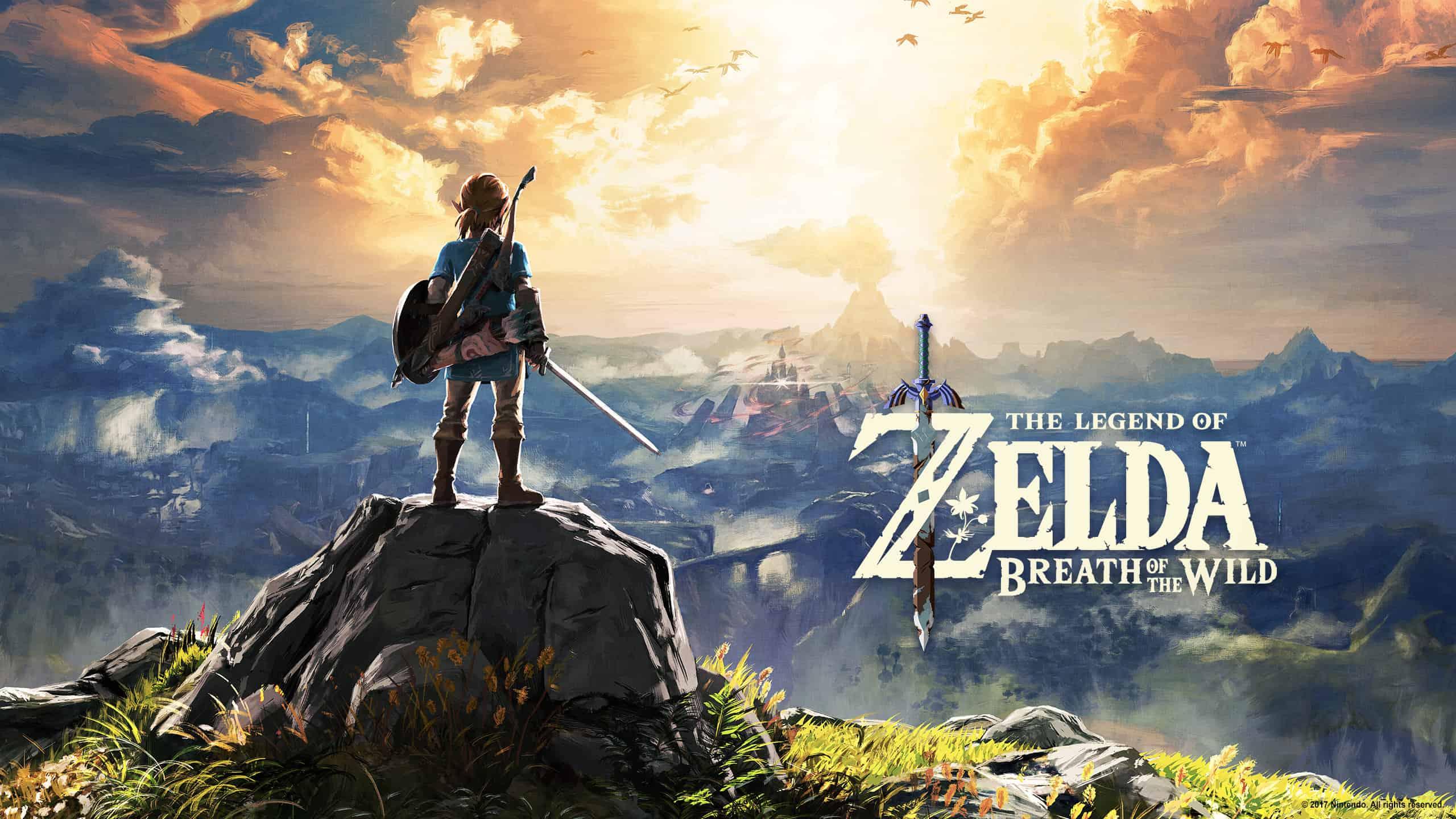 Best Zelda Games - The Legend of Zelda - Breath of the Wild