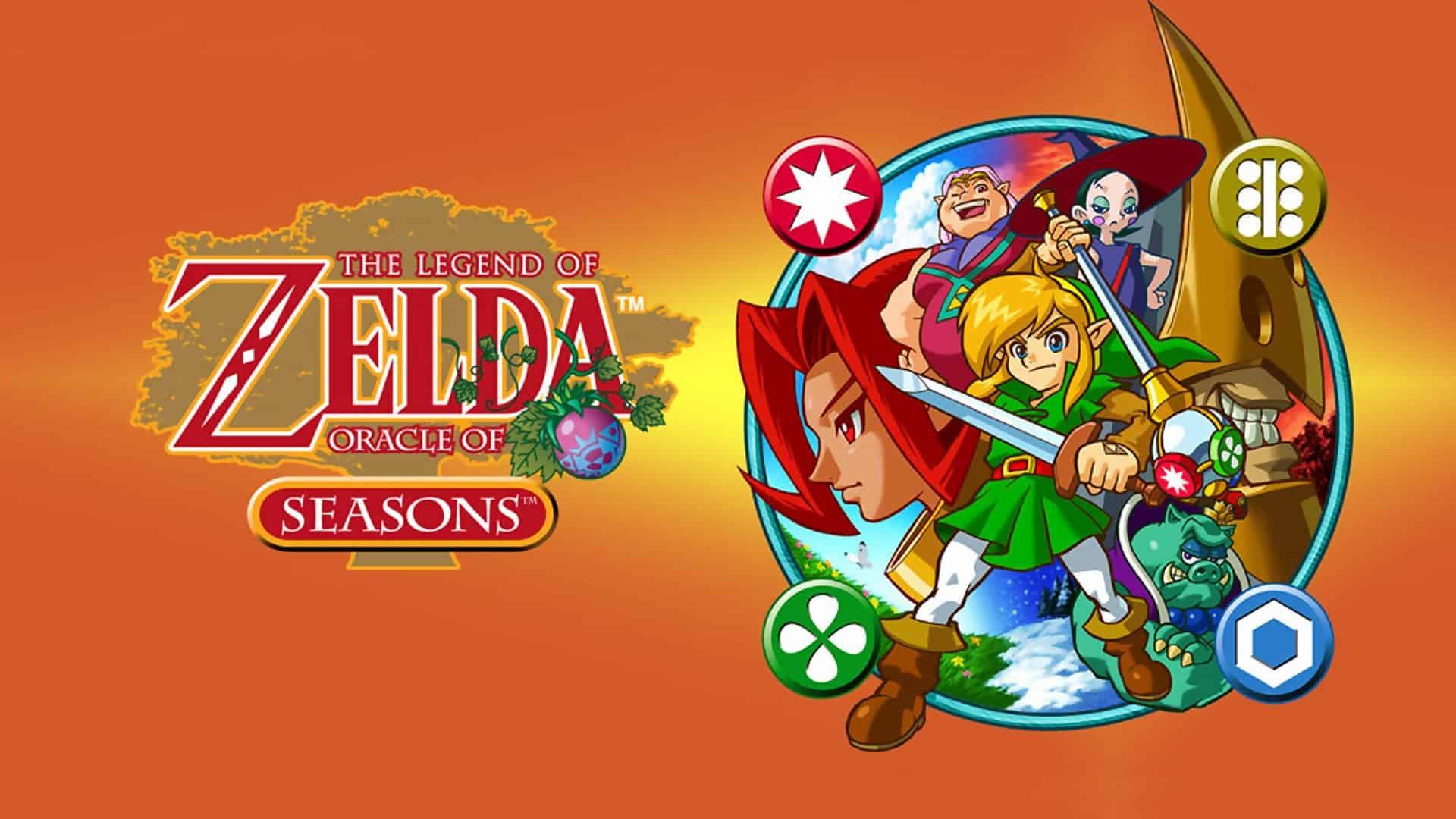 Best Zelda Games - The Legend of Zelda - Oracle of Seasons