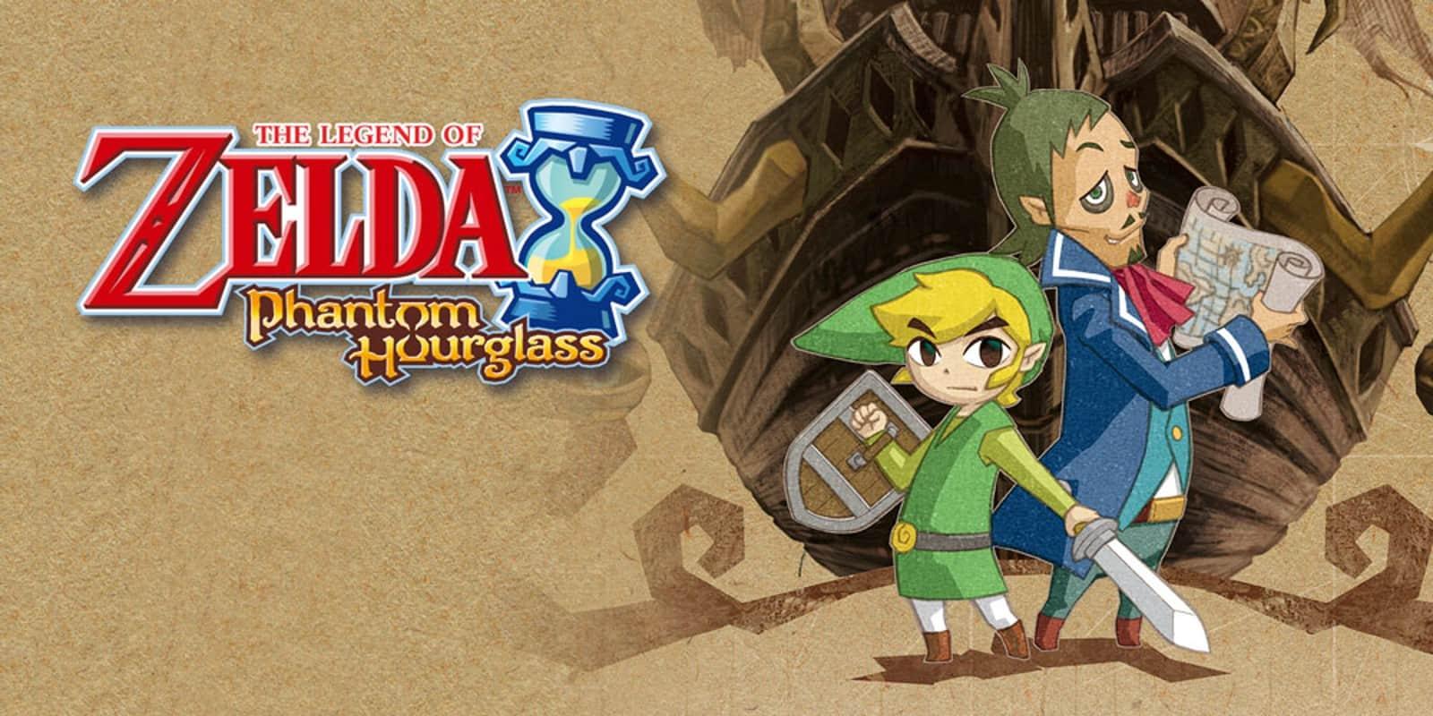 Best Zelda Games - The Legend of Zelda - Phantom Hourglass
