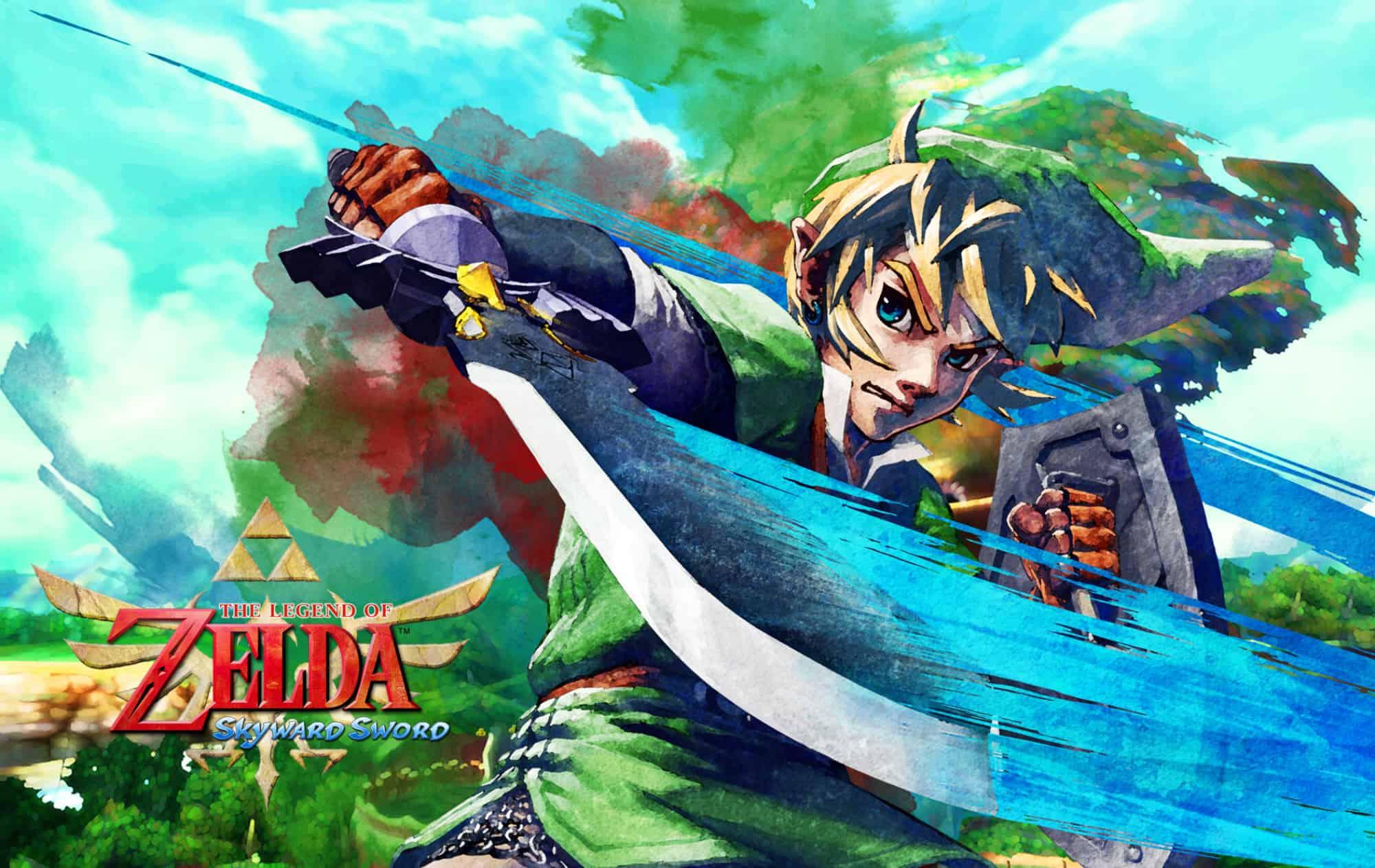 Best Zelda Games - The Legend of Zelda - Skyward Sword