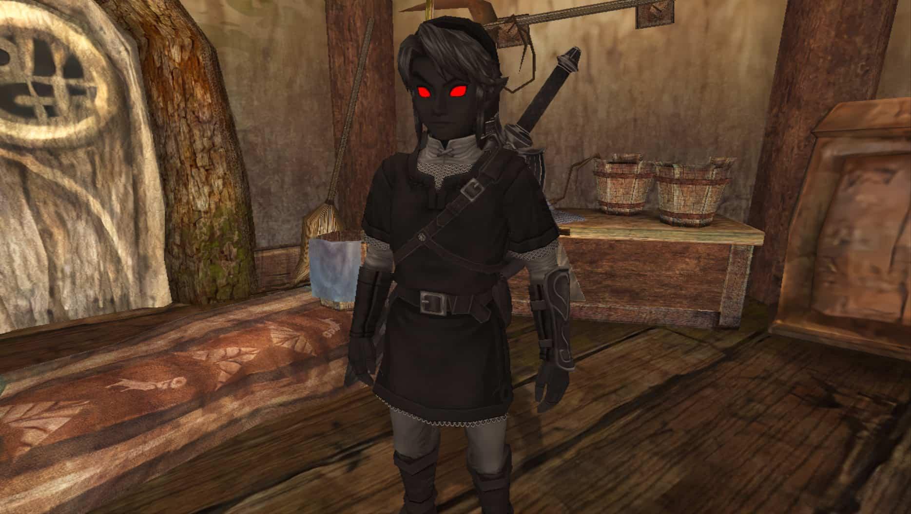 Toughest Video Game Bosses - Dark Link - Zelda II- The Adventure of Link