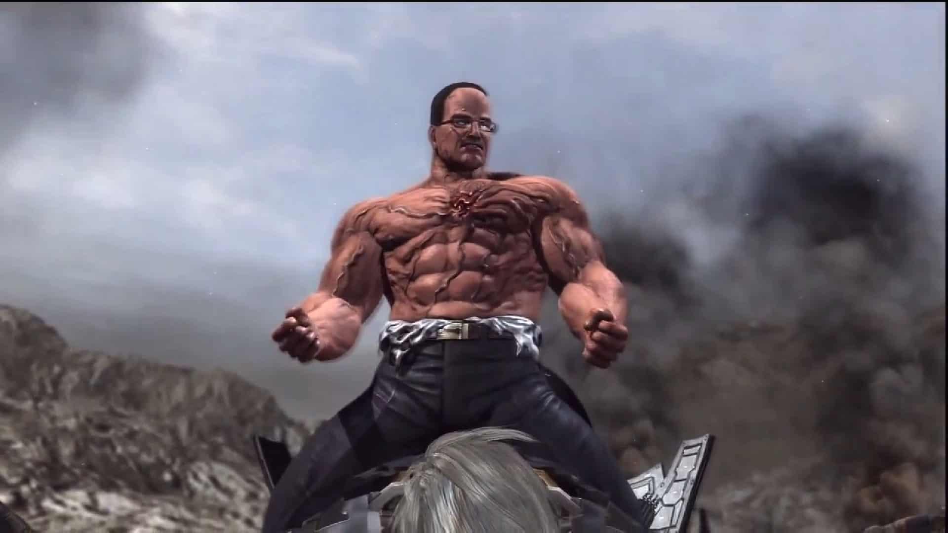 Toughest Video Game Bosses - Senator Armstrong - Metal Gear Rising- Revengeance