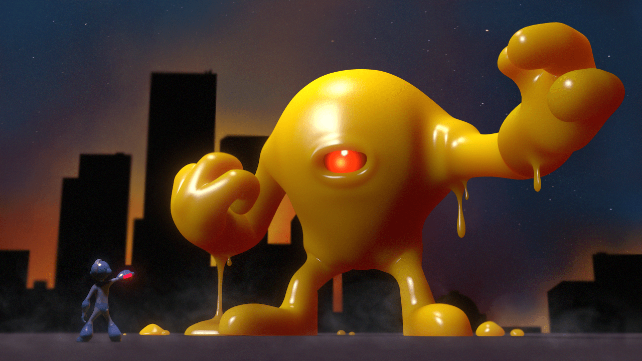 Toughest Video Game Bosses - Yellow Devil - Mega Man